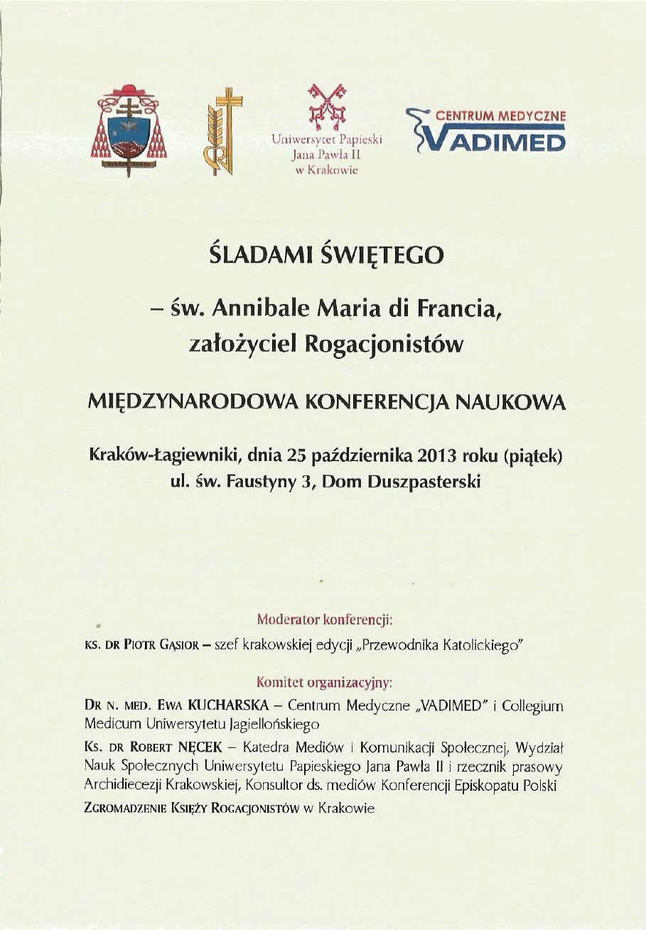 Simposio Cracovia 2013