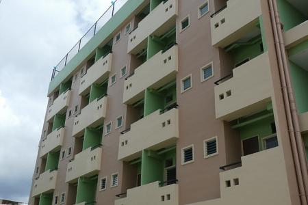 The new 5-storey apartment.