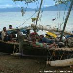 Sulle rive di Papua.
