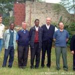 I religiosi di Nyanza e Cyangugu con i padri in visita
