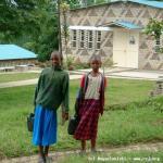 Nyanza: Centro Sociale, sullo sfondo la Chiesa