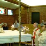 Adorazione eucaristica di ringraziamento dopo l'elezione del Superiore Generale.