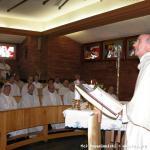 L'incontro si conclude con la Messa presieduta da P. Nalin, Superiore Generale dei Rogazionisti.