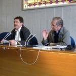 <p>Foto dell'intervento di introduzione ai lavori tenuto dal Sup. Generale P. Angelo A. Mezzari</p>